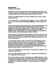 narrative essay   a level drama   marked by teacherscom page  zoom in