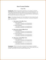 essay outline formal essay outline