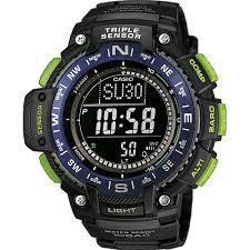 Купить <b>часы CASIO SGW</b>-<b>1000</b>-<b>2B</b> по цене 11740 рублей в Time ...