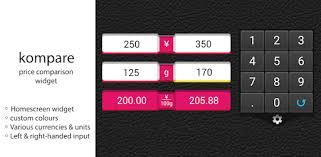 kompare price compare widget — Lietotnes pakalpojumā Google Play
