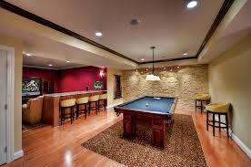 by their nature basements tend to be dark poorly lit spaces so carefully choosing and positing lighting is an essential element of successful basement bets basement lighting