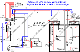 automatic ups system wiring circuit diagram  home office click image to enlarge automatic ups system wiring circuit diagram  new design very simple  for home or office