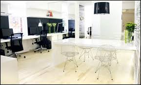 black and white private office black and white office design