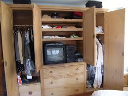 antique english knotty pine armoire supersize antique english pine armoire