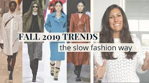 Fall Winter <b>2019 Fashion</b> Trends | How to Wear Them | Slow ...