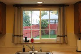 Large Kitchen Window Treatment Kitchen Window Treatments Kitchen Backsplash Decorating Ideas