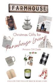 Christmas Gift Ideas for Farmhouse ... - Follow The Yellow Brick Home