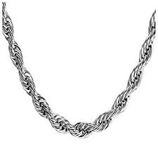 Charm Necklace For Women, Stainless Steel Rope ... - Amazon.com