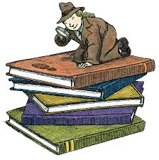 Image result for mystery books clipart
