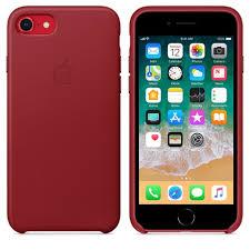 <b>Кожаный чехол Apple</b> для <b>iPhone</b> 7 и 8