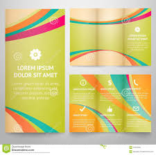 professional three fold business flyer template stock photos professional three fold business flyer template