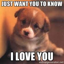 I LOVE YOU MEMES image memes at relatably.com via Relatably.com