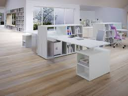 chic home office decor: home office minimalist shabby chic style desc exercise ball chair oak cube bookcases oak glass filing cabinets stackable clamp on desk lamps telescopes
