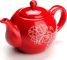 """<b>Чайник заварочный Loraine</b> """"Красный узор"""", цвет: красный ..."""