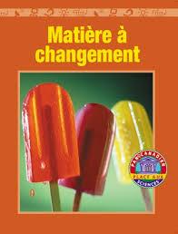 Résultats de recherche d'images pour «matière à changement»