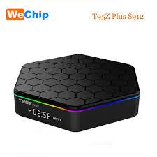 Wechip <b>T95Z</b> Plus <b>TV Box Android</b> 7.1 S912 Octa core 3G 32G 4K ...