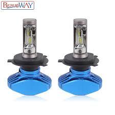 BraveWay <b>2PCS Super</b> Brgiht <b>CSP</b> Chip H7 LED H4 Car Light <b>H8</b> ...