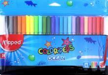 """<b>Фломастеры</b> ""<b>Color</b>'<b>peps</b> Ocean"" (24 цвета) (845722)"""