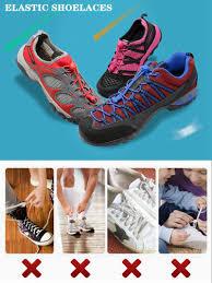 <b>1Pair</b> 23 colors Sneaker <b>ShoeLaces</b> Elastic No Tie Shoe <b>Laces</b> ...