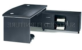 simple design wooden office furniture black color office table sz black office table