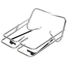 Chrome <b>Saddle Bag Guard</b> Rail <b>Bracket</b> Compatible with <b>Harley</b> ...