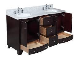 bathroom sink in cabinet