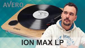 Обзор <b>ION</b> MAX LP <b>Проигрыватель</b> винила со встроенной ...