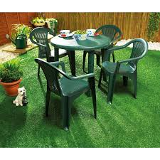 beautiful green plastic garden table and chair styles cheap plastic patio furniture
