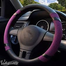 Valleycomfy Steering Wheel Cover, <b>Microfiber Leather</b> Viscose ...