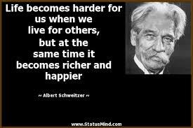 Albert Schweitzer Quotes at StatusMind.com via Relatably.com