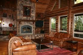 rustic cabin living room decorating ideas pictures red and brown living room cabin furniture ideas