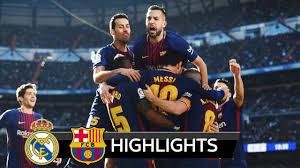 Real Madrid vs Barcelona 0-3 - All Goals & Extended Highlights - La ...