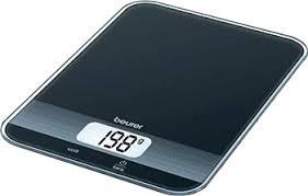 Кухонные <b>весы Beurer KS 19</b> black купить в интернет-магазине ...