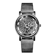 Fashion SOXY Fashion Personality <b>Business Skeleton Watch</b> Men ...