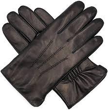 Harssidanzar <b>Mens Luxury Italian</b> Sheepskin <b>Leather</b> Gloves ...