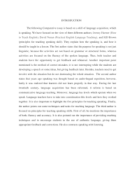essay introduction thesis examples in literature   essay for youhome » essay writing samples » amusing how to write a comparative essay example outline thesis literature stories introduction