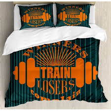 East Urban Home <b>Winners Train Losers</b> Complain Quote Design ...
