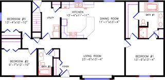 Ranch Floor Plansfloor plan  Limited II
