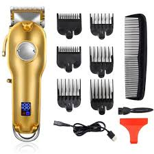 <b>professional clipper</b> all-metal <b>rechargeable</b> hair <b>trimmer electric</b> ...