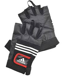 Купить <b>Adidas перчатки тяжелоатлетические</b> (кожа) размер S/M в ...