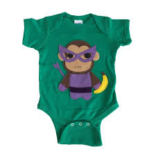 Super Hero <b>Onesie</b> -Team Super <b>Animals</b> - Monkey Banana Green ...