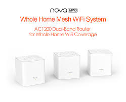 <b>Tenda</b> Nova <b>MW3</b> AC1200 Dual Band Wireless Router for Whole ...