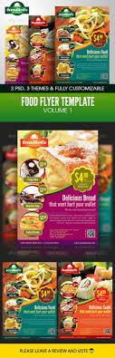 best images about design coporat business food flyer template volume 1