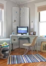contemporary corner desk home office contemporary with antiques feminine radiator rustic built corner desk home