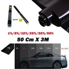 <b>1 Roll 50 Cm</b> X 3m <b>1</b>/5/15/25/35/50 Percent <b>Car</b> Sunshade ...