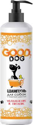 Шампунь для собак с короткой шерстью <b>Good Dog</b>, <b>увлажнение и</b> ...