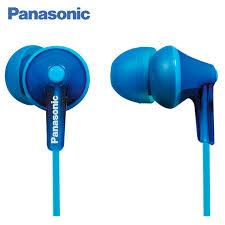 <b>Panasonic RP HJE125E A In ear earphone</b> wired, headset fone.-in ...