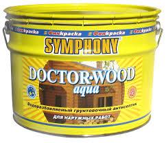 <b>Грунтовочный антисептик</b> SYMPHONY DOCTOR-WOOD Aqua с ...