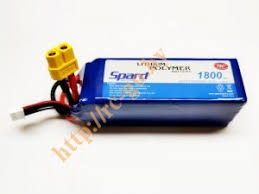 <b>Аккумулятор Spard LiPo 22.2V</b> 6S 75C 1800mAh (XT60 ...