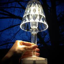 fancy kartell battery led table lamp battery table lamps ferruccio laviani